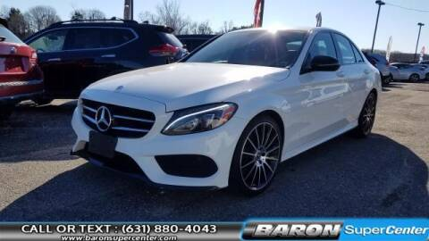 2018 Mercedes-Benz C-Class for sale at Baron Super Center in Patchogue NY