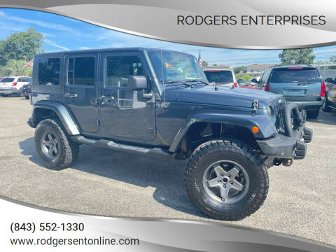 2008 Jeep Wrangler Unlimited for sale at Rodgers Enterprises in North Charleston SC