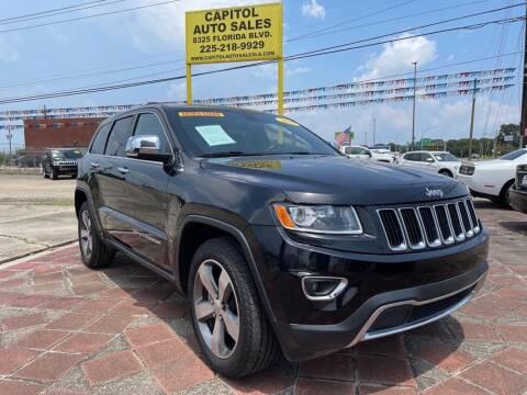 2015 Jeep Grand Cherokee for sale at CAPITOL AUTO SALES LLC in Baton Rouge LA