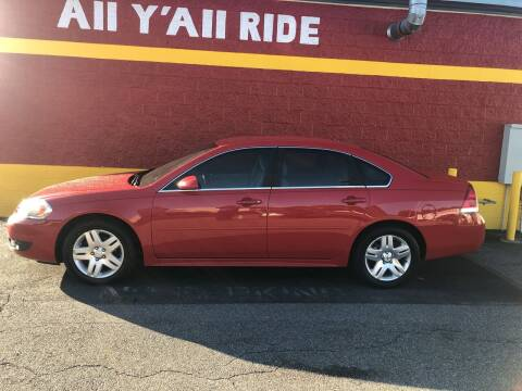 2011 Chevrolet Impala for sale at Big Daddy's Auto in Winston-Salem NC