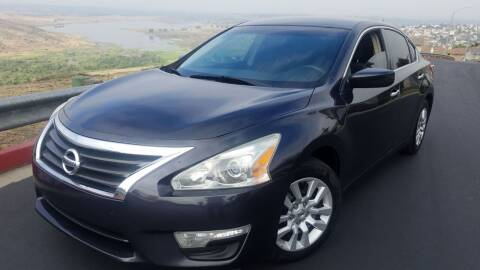 2013 Nissan Altima for sale at Trini-D Auto Sales Center in San Diego CA
