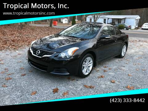 2010 Nissan Altima for sale at Tropical Motors, Inc. in Riceville TN