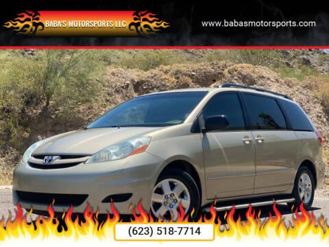 2007 Toyota Sienna for sale at Baba's Motorsports, LLC in Phoenix AZ