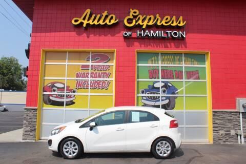 2013 Kia Rio 5-Door for sale at AUTO EXPRESS OF HAMILTON LLC in Hamilton OH
