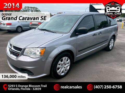 2014 Dodge Grand Caravan for sale at Real Car Sales in Orlando FL