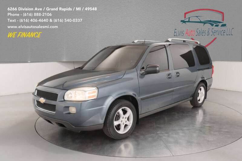 2005 Chevrolet Uplander for sale at Elvis Auto Sales LLC in Grand Rapids MI