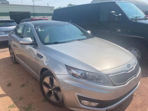 2012 Kia Optima Hybrid for sale at Street Smart Auto Brokers in Colorado Springs CO