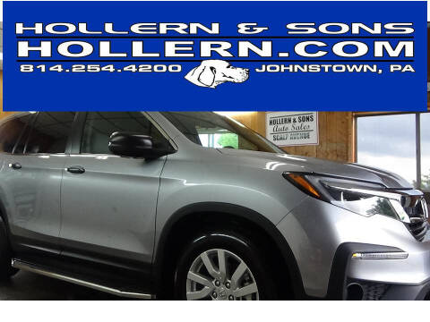 2020 Honda Pilot for sale at Hollern & Sons Auto Sales in Johnstown PA