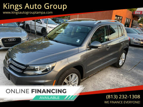 2015 Volkswagen Tiguan for sale at Kings Auto Group in Tampa FL