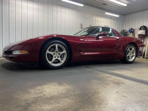 2003 Chevrolet Corvette for sale at Ryans Auto Sales in Muncie IN