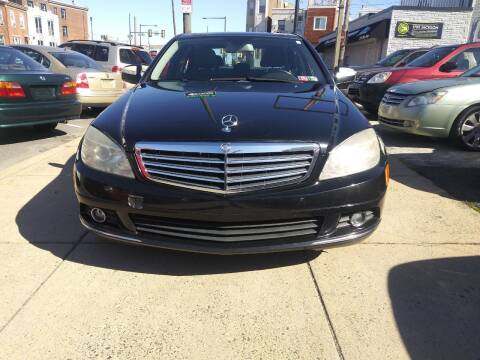 2009 Mercedes-Benz C-Class for sale at K J AUTO SALES in Philadelphia PA