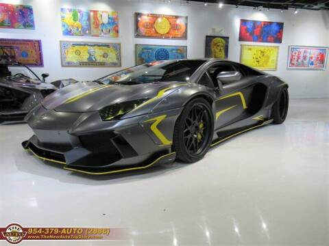 2012 Lamborghini Aventador for sale at The New Auto Toy Store in Fort Lauderdale FL