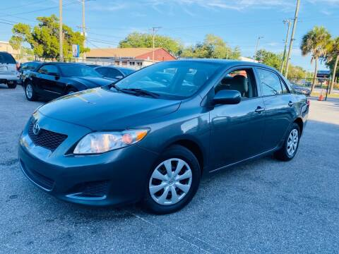 2010 Toyota Corolla for sale at CHECK  AUTO INC. in Tampa FL