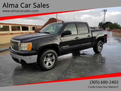 2007 GMC Sierra 1500 for sale at Alma Car Sales in Miami FL