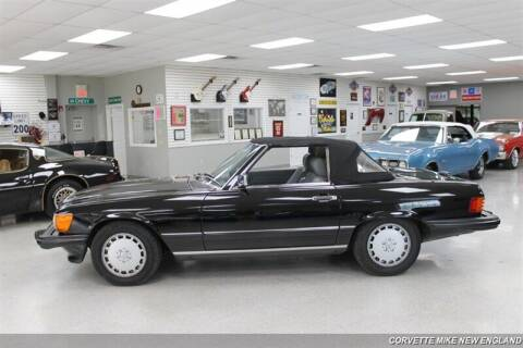 1988 Mercedes-Benz 560-Class for sale at Corvette Mike New England in Carver MA