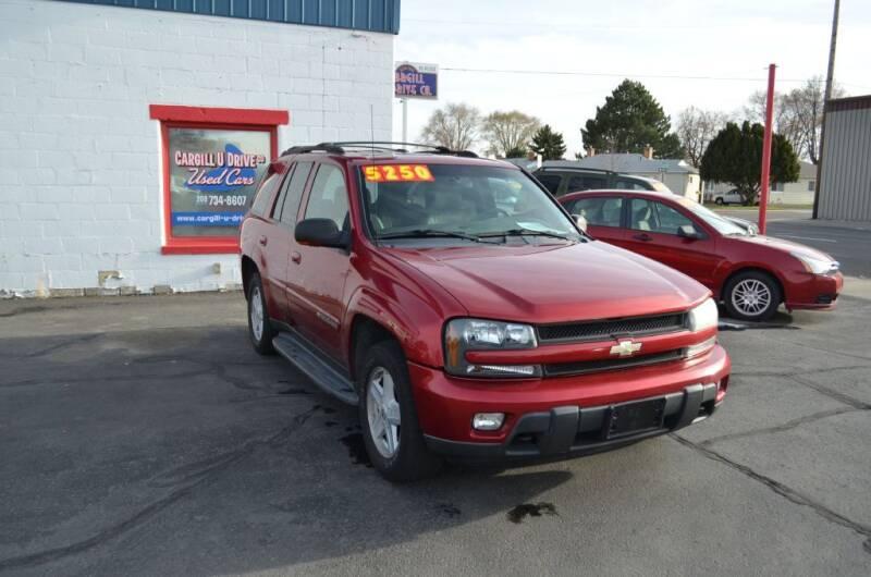 2002 Chevrolet TrailBlazer for sale at CARGILL U DRIVE USED CARS in Twin Falls ID