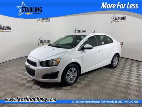 2014 Chevrolet Sonic for sale at Pedro @ Starling Chevrolet in Orlando FL