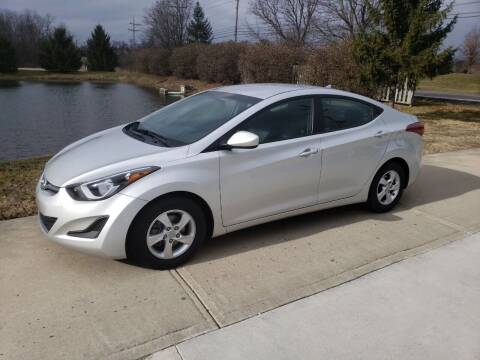 2015 Hyundai Elantra for sale at Exclusive Automotive in West Chester OH