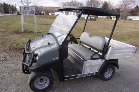 2017 Club Car Carry All 300 48 Volt for sale at Area 31 Golf Carts - Electric 2 Passenger in Acme PA