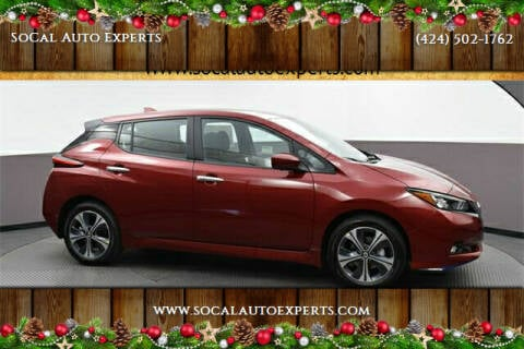 2020 Nissan LEAF for sale at SoCal Auto Experts in Culver City CA
