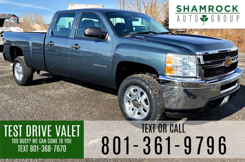 2013 Chevrolet Silverado 2500HD for sale at Shamrock Group LLC #1 in Pleasant Grove UT
