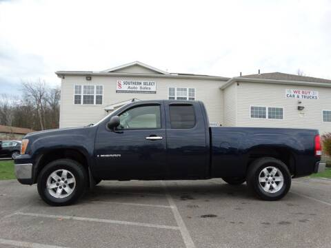 2007 GMC Sierra 1500 for sale at SOUTHERN SELECT AUTO SALES in Medina OH