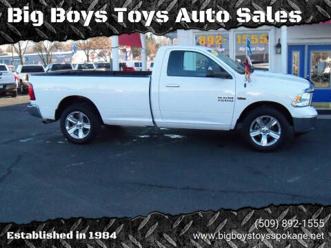 2013 RAM Ram Pickup 1500 for sale at Big Boys Toys Auto Sales in Spokane Valley WA