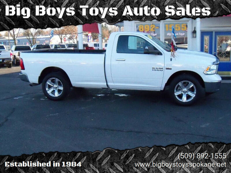 2013 RAM Ram Pickup 1500 for sale at Big Boys Toys Auto Sales in Spokane Valley WA