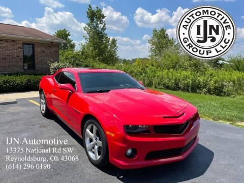 2010 Chevrolet Camaro for sale at IJN Automotive Group LLC in Reynoldsburg OH