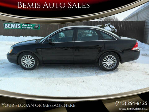 2005 Mercury Montego for sale at Bemis Auto Sales in Crivitz WI