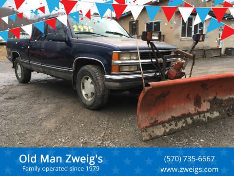 1998 Chevrolet C/K 1500 Series for sale at Old Man Zweig's in Plymouth PA