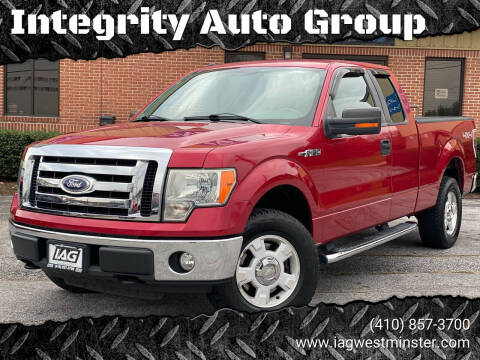 2010 Ford F-150 for sale at Integrity Auto Group in Westminister MD