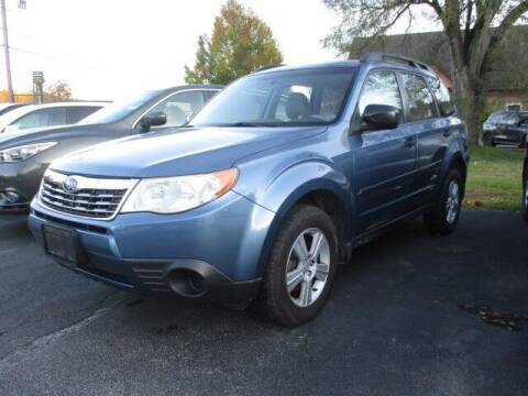 2010 Subaru Forester for sale at Mill Street Motors in Worcester MA