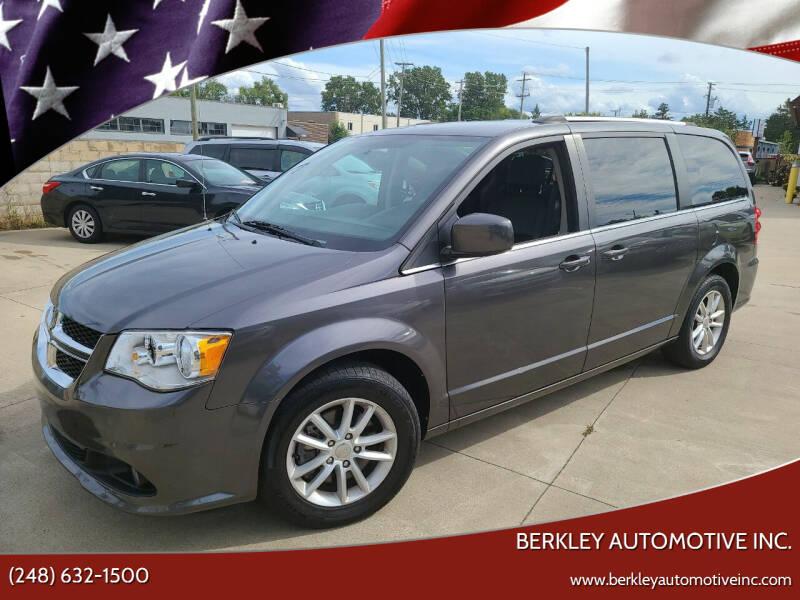 2018 Dodge Grand Caravan for sale at Berkley Automotive Inc. in Berkley MI