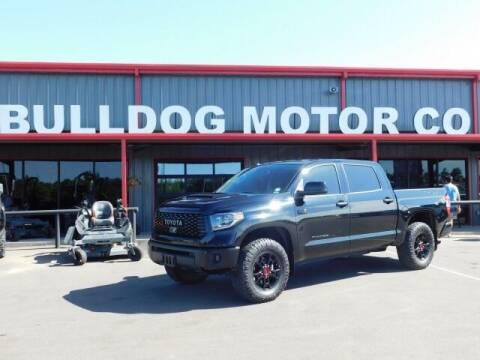 2019 Toyota Tundra for sale at Bulldog Motor Company in Borger TX