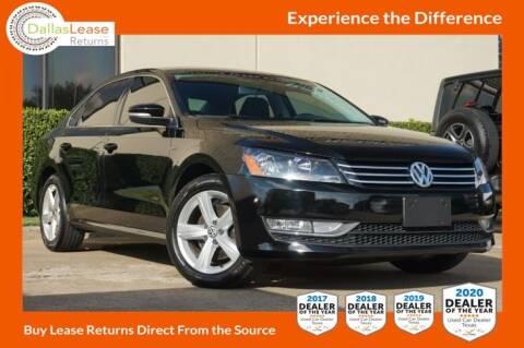 2015 Volkswagen Passat for sale at Dallas Auto Finance in Dallas TX