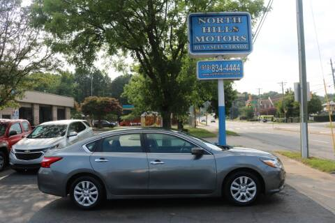 2017 Nissan Altima for sale at North Hills Motors in Raleigh NC