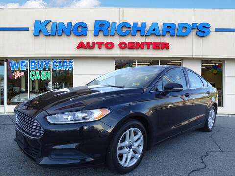 2015 Ford Fusion for sale at KING RICHARDS AUTO CENTER in East Providence RI