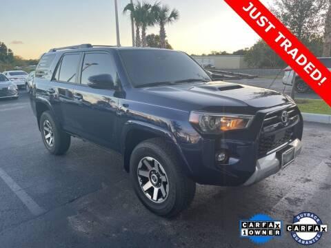 2021 Toyota 4Runner for sale at PHIL SMITH AUTOMOTIVE GROUP - Toyota Kia of Vero Beach in Vero Beach FL