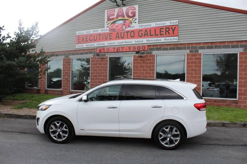 2017 Kia Sorento for sale at EXECUTIVE AUTO GALLERY INC in Walnutport PA
