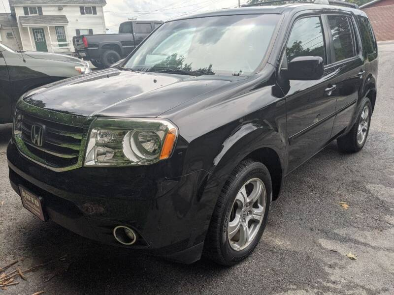 2014 Honda Pilot for sale at AUTO CONNECTION LLC in Springfield VT