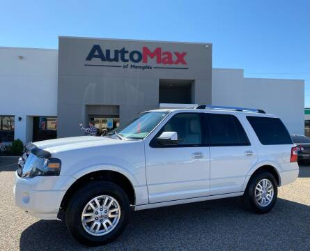 2013 Ford Expedition for sale at AutoMax of Memphis in Memphis TN
