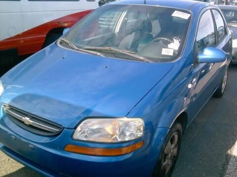 2006 Chevrolet Aveo for sale at Cj king of car loans/JJ's Best Auto Sales in Troy MI