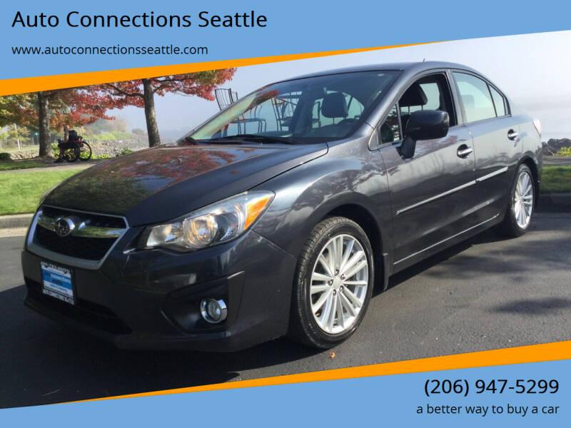 2012 Subaru Impreza for sale at Auto Connections Seattle in Seattle WA