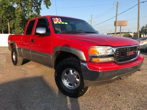 2002 GMC Sierra 1500 for sale at Harry's Auto Sales, LLC in Goose Creek SC