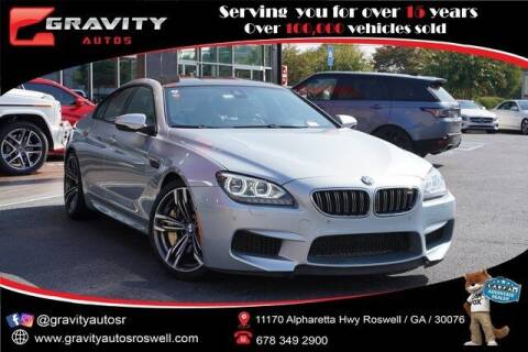 2015 BMW M6 for sale at Gravity Autos Roswell in Roswell GA