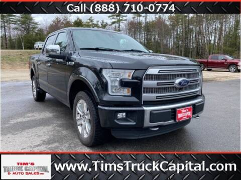 2015 Ford F-150 for sale at TTC AUTO OUTLET/TIM'S TRUCK CAPITAL & AUTO SALES INC ANNEX in Epsom NH
