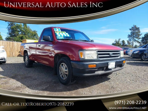 1993 Toyota T100 for sale at Universal Auto Sales Inc in Salem OR
