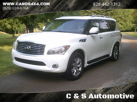 2012 Infiniti QX56 for sale at C & S Automotive in Nebo NC