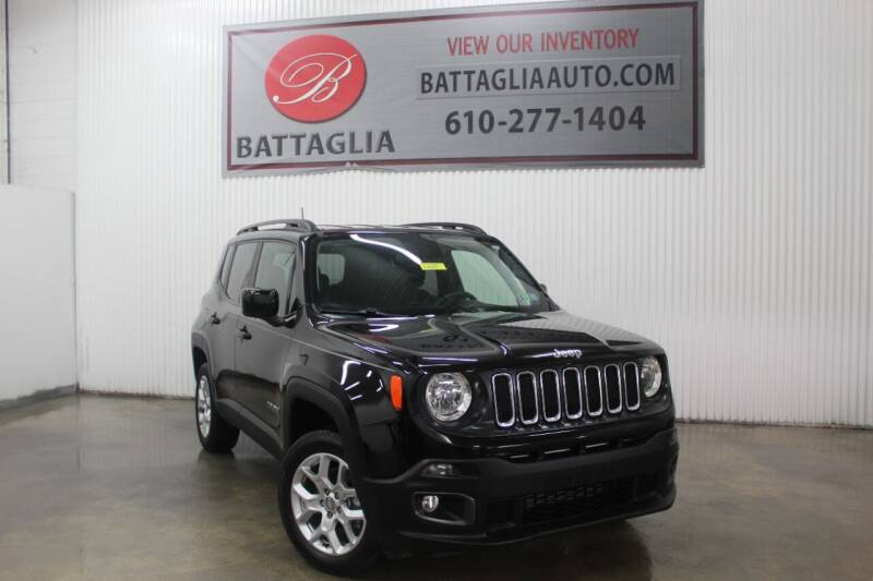 2018 Jeep Renegade for sale at Battaglia Auto Sales in Plymouth Meeting PA